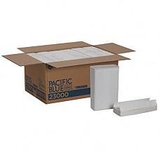 [해외]Pacific Blue Select Premium 2-Ply C-Fold Paper Towels (previously branded Signature) by GP PRO (Georgia-Pacific), White, 23000, 120 Towels Per Pack, 12 Packs Per Case