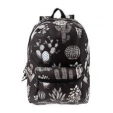 [해외]Arctic Star 17 inch Kids Classic Cute Printed Padded School Backpack w/Headphone Slot in Cactus Print for Boys and Girls