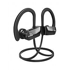 [해외]Mpow D7 [Upgraded] Bluetooth Headphones, IPX7 방수 Real HD Sound Wireless Sports Earbuds w/Mic, 10~12H 배터리 Noise Cancelling Earphones for Running, Jogging, Cycling, Exercising, Workout