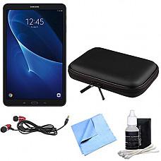 [해외]삼성 갤럭시 Tab A 16GB High-Resolution 10.1-inch Tablet & Accessories Bundle