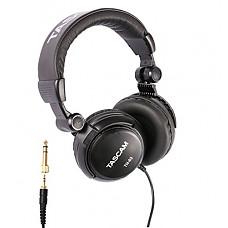 [해외]Tascam TH-03 Studio Headphones – Closed Back, Padded, Adjustable Pro Audio Headset with Gold Tip 1/8 inch to 1/4 inch Adaptor