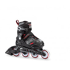 [해외]Bladerunner by Rollerblade Phoenix Boys Adjustable Fitness Inline Skate, Black and Red, Junior, Value Performance Inline Skates