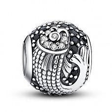 [해외]Glamulet Art - Powerful Koi Carp Charm -- 925 Sterling Silver