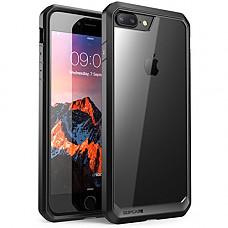 [해외]iPhone 8 Plus Case, SUPCASE Unicorn Beetle Series Premium Hybrid Protective Clear Case 애플 iPhone 7 Plus 2016 / iPhone 8 Plus 2017 Release (Black)