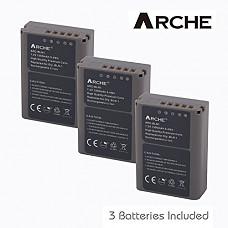 [해외]ARCHE Replacement 올림푸스 BLN-1 배터리 <3 Pack> for 올림푸스 BLN-1, BCN-1, Pen F, PEN E-P5, OM-D E-M5, OM-D E-M5 Mark II, OM-D E-M1 Digital SLR 카메라