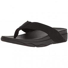 핏플랍 여성 샌들 FitFlop Women's Surfa Flip-Flop-Black
