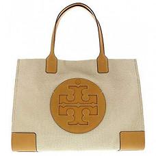 토리버치 엘라 탑핸들백 Tory Burch Women's Ella Canvas Tote Top-Handle Bag