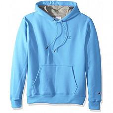 [해외] 챔피온 후드티 Champion Men's Powerblend Fleece Pullover Hoodie - Swiss Blue
