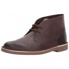 [해외] 클락스 남성 부츠 Clarks Men's Bushacre 2 Chukka Boot - Dark Brown Leather