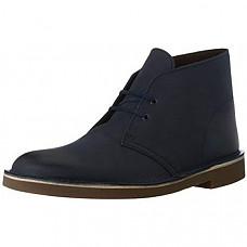 [해외] 클락스 남성 부츠 Clarks Men's Bushacre 2 Chukka Boot - Navy Leather