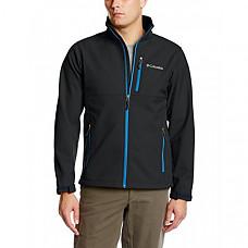 [해외] 콜롬비아 소프트셀 자켓 Columbia Men's Ascender Softshell Jacket, Water & Wind Resistant - Black/Hyper Blue