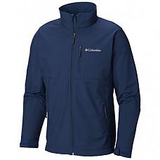 [해외] 콜롬비아 소프트셀 자켓 Columbia Men's Ascender Softshell Jacket, Water & Wind Resistant - Petrol Blue
