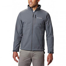 [해외] 콜롬비아 소프트셀 자켓 Columbia Men's Ascender Softshell Jacket, Water & Wind Resistant - Graphite