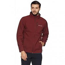 [해외] 콜롬비아 소프트셀 자켓 Columbia Men's Ascender Softshell Jacket, Water & Wind Resistant - Deep Rust
