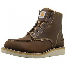 [해외] 칼하트 방수 작업부츠 Carhartt Men's 6-Inch Waterproof Wedge Soft Toe Work Boot - Brown