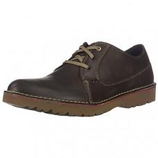 [해외] 클락스 남성 옥스포드 CLARKS Men's Vargo Plain Oxford - Dark Brown Leather