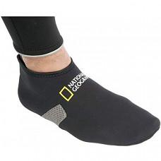 [해외] 내셔널지오그래픽 수영 신발 National Geographic Fitted Low Cut 2 mm Fin Socks, Booties for Snorkeling, Scuba, or Swim