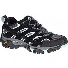 [해외] 머럴 여성 하이킹 신발 Merrell Women's Moab 2 Vent Hiking Shoe - Black Aqua