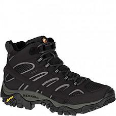[해외] 머럴 여성 GTX 하이킹 부츠 Merrell Women's Moab 2 Mid Gtx Hiking Boot - Black