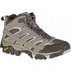 [해외] Merrell Women's Moab 2 Mid Gtx Hiking Boot - Brindle
