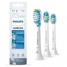 [해외] 필립스 소닉케어 교체용 칫솔 헤드 Philips Sonicare Toothbrush Head Variety Pack – C3 Premium Plaque Control & C2 Optimal Plaque Control, 3 Pack, white, HX9023/69
