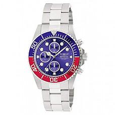 [해외] 인빅타 남성 프로다이버 시계(Model : 1771) Invicta Men's  Pro Diver Collection Stainless Steel Chronograph Watch
