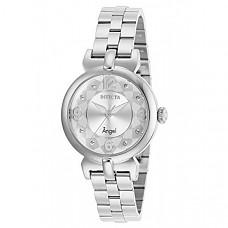 [해외] 인빅타 여성 엔젤 쿼츠 시계(Model: 29145) Invicta Women's Angel Quartz Watch with Stainless Steel Strap, Silver