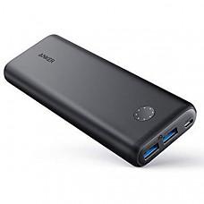 [해외] 앤커 파워코어 20100mAh 휴대용 충전지 Anker PowerCore II 20000, 20100mAh Portable Charger with Dual USB Ports, PowerIQ 2.0 (up to 18W Output) Power Bank, Fast Charging for iPhone, Samsung and More (Compatible with Quick Charge Devices)