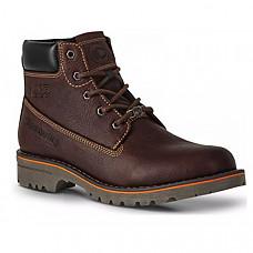 [해외] 디스커버리 익스페디션 남성 가죽 부츠 Discovery EXPEDITION Men's Dark Brown Leather Lace-Up Cushioned Outdoors Boot
