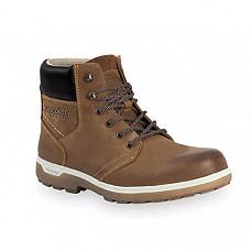 [해외] 디스커버리 익스페디션 남성 캐주얼 가죽 부츠 Discovery EXPEDITION Men's Casual Outdoor Tan Leather Lace-Up Boot w/Traction Sole