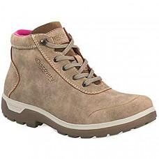 [해외] 디스커버리 익스페디션 여성 하이킹 부츠 Discovery EXPEDITION Sarek Women's Adventure Mid Hiking Boot Sand Size
