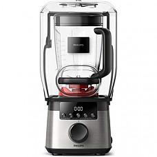 [해외] 필립스 고속파워 믹서기 HR3868/90 Philips Kitchen Appliances High Speed Power Blender with ProBlend Extreme Technology, Black and Silver
