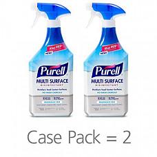 [해외] 퓨렐 다용도 세정 스프레이 828ml 2팩 PURELL Multi Surface Disinfectant Spray – Fragrance Free, VOTED 2018 PRODUCT OF THE YEAR - 28 oz. Spray Bottle (Pack of 2) - 2846-02-EC - 2846-02-ECCAL