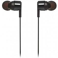 [해외] JBL JBLT210BLKAM 유선이어폰 in-Ear Headphone with One-Button Remote/Mic, Black