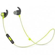 [해외] JBL Reflect Mini 2.0, 무선 스포츠 이어폰 in-Ear Wireless Sport Headphone with 3-Button Mic/Remote - Green, One Size