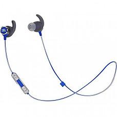 [해외] JBL Reflect Mini 2.0, 무선 스포츠 이어폰 in-Ear Wireless Sport Headphone with 3-Button mic/Remote - Blue