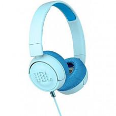 [해외] JBL JR 300 유아용 유선 헤드폰  On-Earheadphones for Kids - Blue