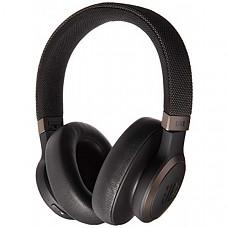 [해외] JBL Live 650 BT NC, 노이즈 제거 무선 헤드폰 Around-Ear Wireless Headphone with Noise Cancellation - Black
