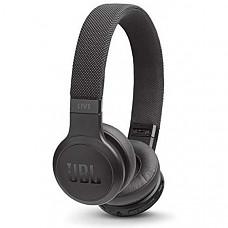 [해외] JBL Live 400BT 무선 헤드폰 On-Ear Wireless Headphones - Black