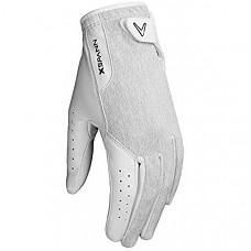 [해외] 캘러웨이 골프 여성용 X- 스팬 압축 프리미엄 가죽 골프 장갑 Callaway Golf Women's X-Spann Compression Fit Premium Cabretta Leather Golf Glove