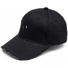 [해외] 바바마 야구 모자, 크기조절 가능 BABAMA Unisex Baseball Caps Men Comfortable Sports Hat Adjustable Breathable Sun Hats Peaked Cap Black