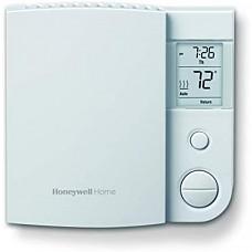 [해외] 하니웰 온도조절기 Honeywell RLV4305A1000 / E1 Rlv4305A1000 / E 5-2 일 프로그램 가능 온도 조절기, 240 V, 1 Deg F, 백색