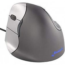 [해외] 이볼루엔트(Evoluent) 버티컬 인체공학적 USB연결 무선 마우스(왼손잡이) Evoluent VM4L VerticalMouse 4 Left Hand Ergonomic Mouse with Wired USB Connection (Regular Size)