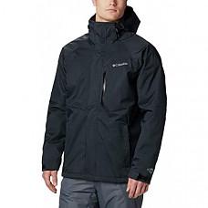 [해외] 컬럼비아(Columbia) 남성 알파인 액션 재킷(Black/영국내수용) Columbia Giacca Azione alpino maschile