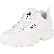 [해외] 필라(Fila) 남성용 디스트리뷰터 로우 트레이너 스니커즈(White/독일내수용) Fila Herren Disruptor Low Sneaker
