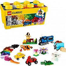 [해외] LEGO 레고 클래식 10696 벽돌상자 건물쌓기(484조각/독일배송) LEGO Classic Medium Creative Brick Box 10696 Building Toys for Creative Play; Kids Creative Kit (484 Pieces)