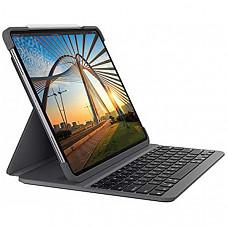 [해외] 로지텍 아이패드 프로 11 인치 (1 세대 및 2 세대) 무선 슬림 폴리오 프로 케이스 Logitech SLIM FOLIO PRO Backlit Bluetooth Keyboard Case for iPad Pro 11-inch (1st and 2nd gen)