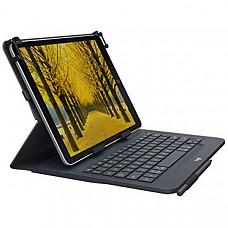 [해외] 로지텍 아이패드 및 삼성테블릿 9~10 인치 호환용 무선 키보드 케이스 Logitech Universal Folio with Integrated Bluetooth 3.0 Keyboard for 9-10
