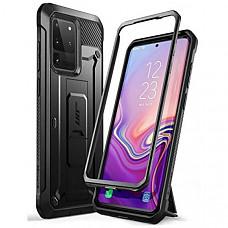 [해외] SUPCASE 유니콘 비틀 프로 삼성 겔럭시 S20 울트라 5G 케이스 UB Pro Series Designed for Samsung Galaxy S20 Ultra / S20 Ultra 5G Case (2020 Release), Full-Body Dual Layer Rugged Holster & Kickstand Case Without Built-in Screen Protector (Black)