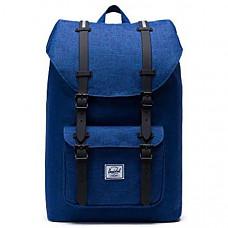 [해외] 허쉘 랩탑 백팩 Herschel Little America Laptop Backpack - Eclipse Crosshatch/Silver Reflective Rubber Insert